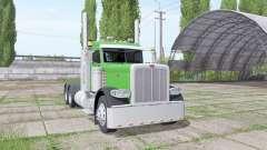 Peterbilt 389 Day Cab para Farming Simulator 2017