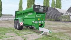 JOSKIN Tornado3 edit Stevie para Farming Simulator 2017