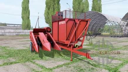 SIP Tornado 80 para Farming Simulator 2017