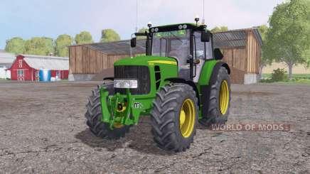 John Deere 6830 Premium v1.7 para Farming Simulator 2015