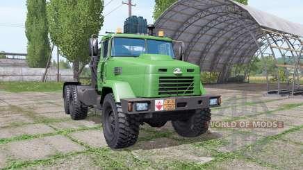KrAZ 64431 v1.6 para Farming Simulator 2017