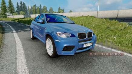 BMW X6 M (Е71) 2009 para Euro Truck Simulator 2