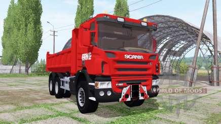 Scania P420 tipper 2010 para Farming Simulator 2017
