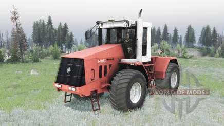 Kirovets K 744R3 para Spin Tires