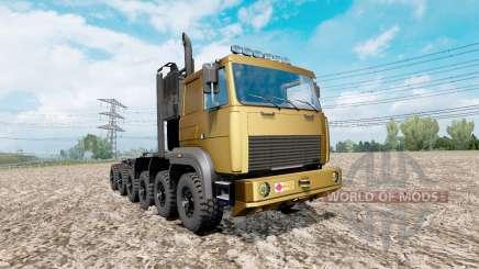 MAZ protótipo 12x12 para Euro Truck Simulator 2