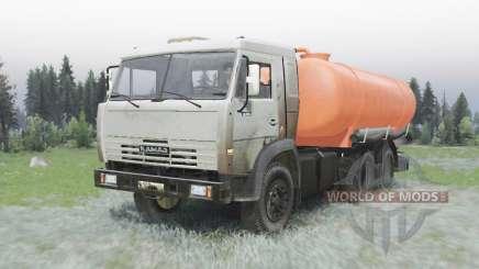 KAMAZ 53215 QUE 505A para Spin Tires