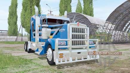 Kenworth W900L para Farming Simulator 2017