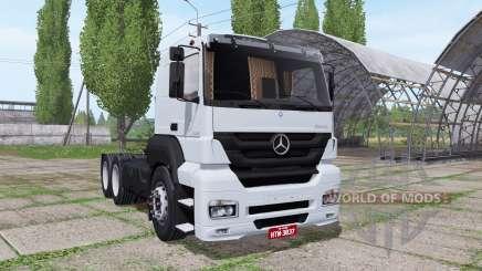 Mercedes-Benz Axor 2544 para Farming Simulator 2017