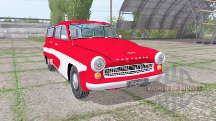 Wartburg 311-5 camping 1956 para Farming Simulator 2017