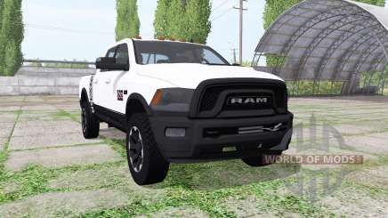 Dodge Ram 2500 Power Wagon Crew Cab para Farming Simulator 2017