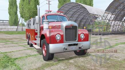 Mack B61 Fire Rescue para Farming Simulator 2017