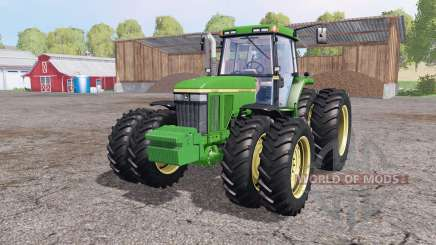 John Deere 7810 v1.1 by Julian11 para Farming Simulator 2015