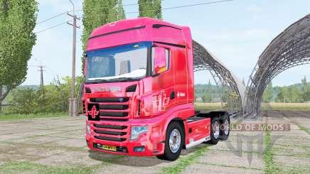 Scania R700 Evo tielbeke para Farming Simulator 2017