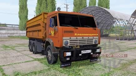 KamAZ 55102 Blagoveshchensk para Farming Simulator 2017