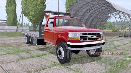 Ford F-350 1996 rollback para Farming Simulator 2017