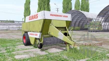 CLAAS Quadrant 1200 para Farming Simulator 2017