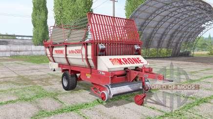 Krone Turbo 2500 v1.4 para Farming Simulator 2017