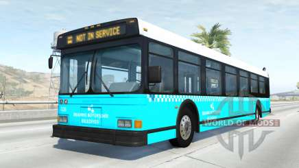 Wentward DT40L Turkish Municipal Bus para BeamNG Drive