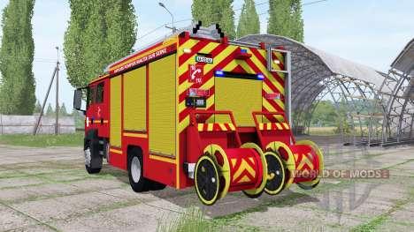 MAN TGM 18.250 Pompier v2.0 para Farming Simulator 2017
