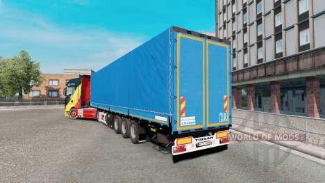 Treyler Tirsan v1.1 para Euro Truck Simulator 2