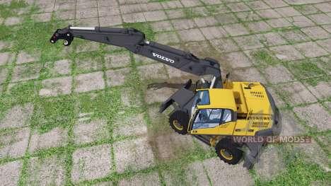 Volvo EW160C para Farming Simulator 2017