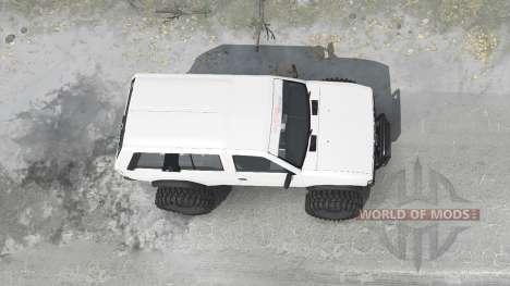 Nissan Terrano R3M 4-door (YD21) 1989 para Spintires MudRunner