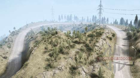La Luna 4 - At the top v1.1 para Spintires MudRunner