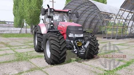 Case IH Puma 200 CVX several wheels para Farming Simulator 2017