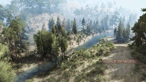 Tropical off-road para Spintires MudRunner