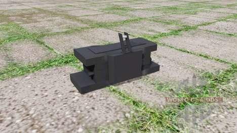 New Holland front weight para Farming Simulator 2017