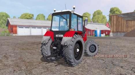 Bielorrússia MTZ 892 v1.2 para Farming Simulator 2015