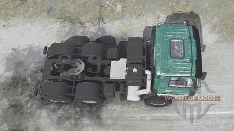 Tatra Phoenix T158 agro para Spintires MudRunner