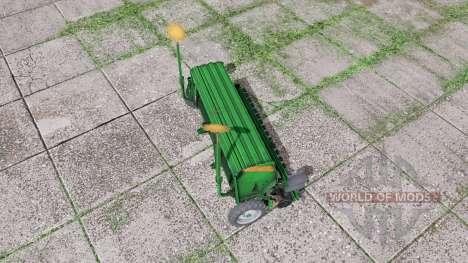 AMAZONE D9 3000 Super green para Farming Simulator 2017