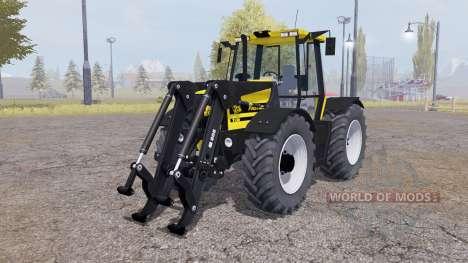 JCB Fastrac 2150 front loader v1.1 para Farming Simulator 2013