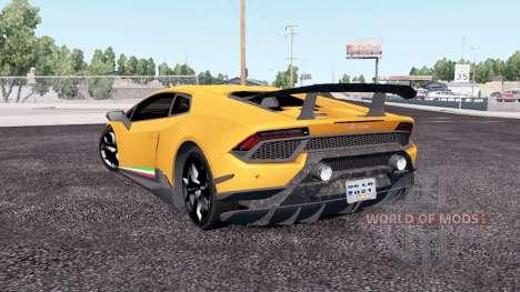 Lamborghini Huracan Performante (LB724) 2017 para American Truck Simulator
