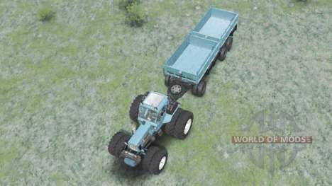 MTZ-82 Bielorrússia para Spin Tires