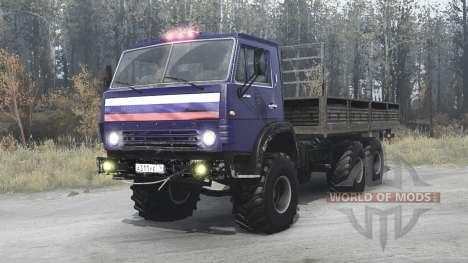 KamAZ-53212 para Spintires MudRunner