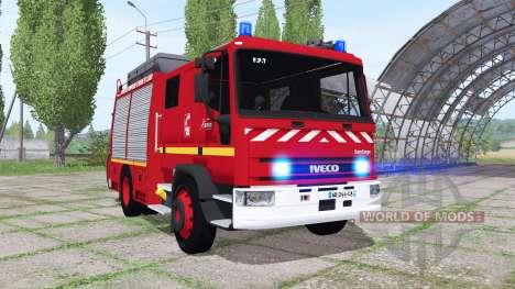 Iveco EuroCargo 1991 Pompier para Farming Simulator 2017