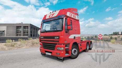 DAF CF85.480 6x4 Space Cab 2006 v0.2.1 para American Truck Simulator