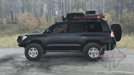 Toyota Land Cruiser 200 (UZJ200) 2008 v1.2 para Spintires MudRunner