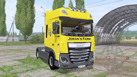 DAF XF 510 FT Super Space Cab 2013 para Farming Simulator 2017