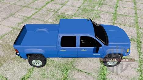 GMC Sierra 2500 HD Crew Cab 2010 v1.2 para Farming Simulator 2017