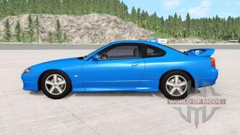 Nissan Silvia Spec-R Aero (GF-S15) 1999 para BeamNG Drive