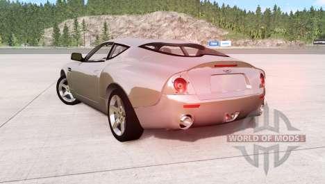 Aston Martin DB7 Zagato 2003 para BeamNG Drive