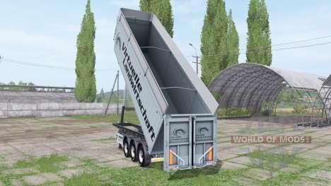 MENCI SA 850 R Virtuelle Landwirtschaft v2.0 para Farming Simulator 2017