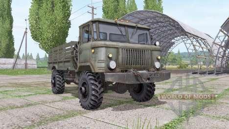 GAZ 66 v1.6 para Farming Simulator 2017
