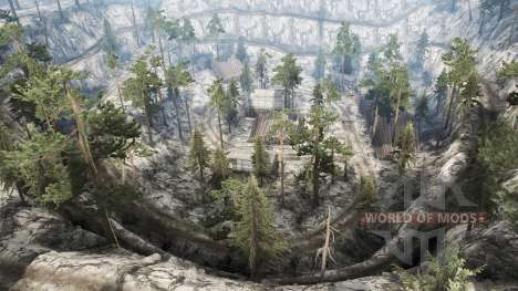 Haishan Mining Area para Spintires MudRunner