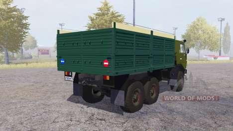 KamAZ 4310 fora-de-estrada v2.0 para Farming Simulator 2013