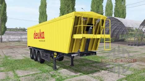 MENCI SA 850 R Deuka para Farming Simulator 2017