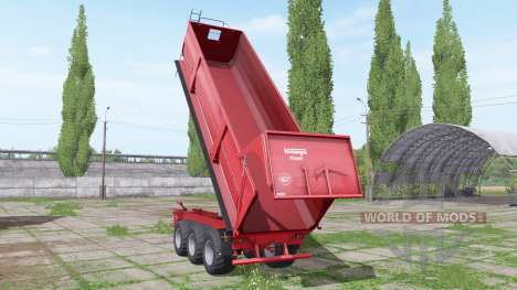 Krampe Big Body 900 edit Xelma para Farming Simulator 2017